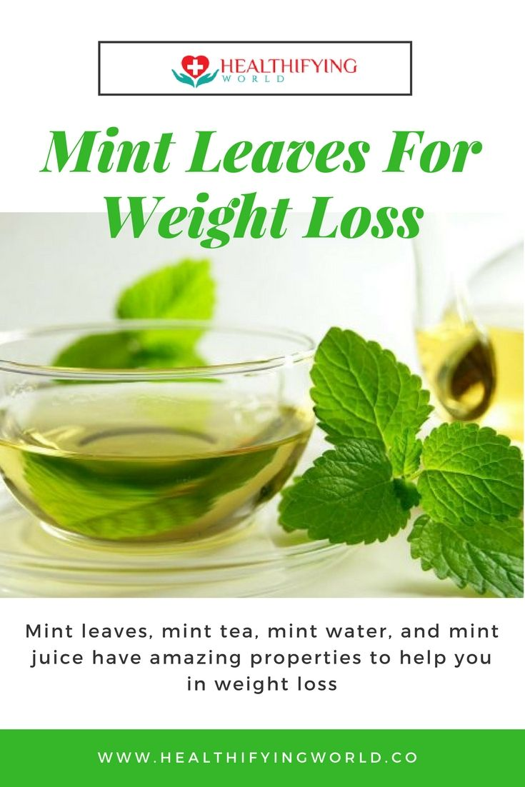 amazing weight loss benefits of mint leaves, juice & tea | weight