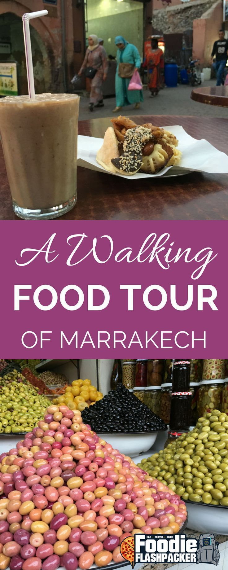 The highlight of my time spent in Marrakech was definitely the walking food tour I took with Marrakech Food Tours. My favorite thing about the tour is that we visited places I know that I would not have discovered on my own. Places that maybe only locals