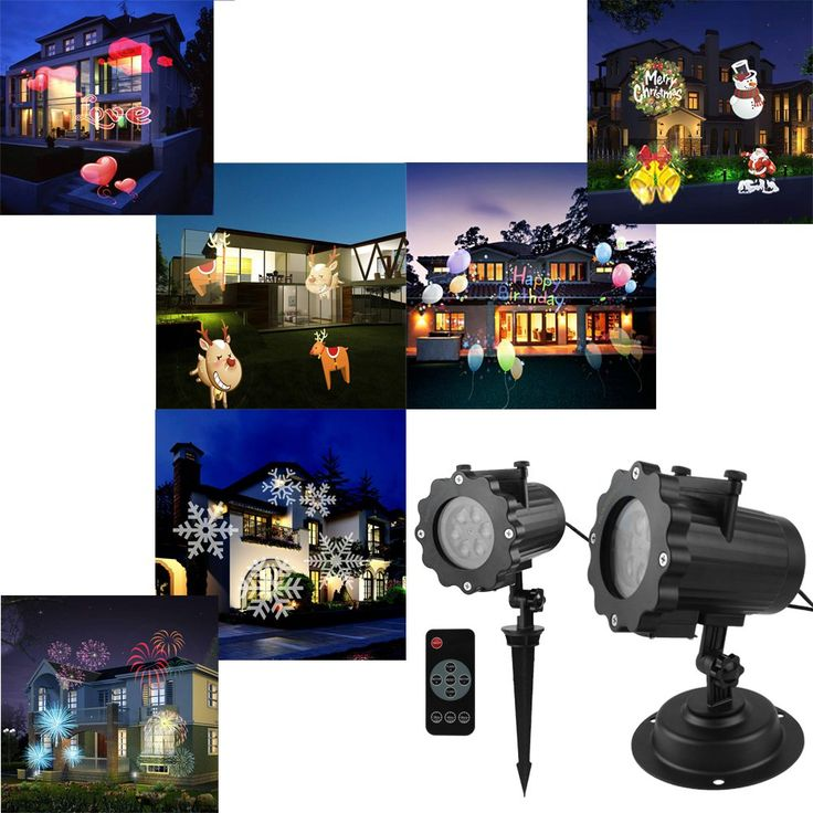 Commercial Lighting Lights & Lighting Careful 12 Patterns Christmas Laser Projector Animation Effect Ip65 Indoor/outdoor Halloween Projector Snowflake/snowman Laser Light In Pain