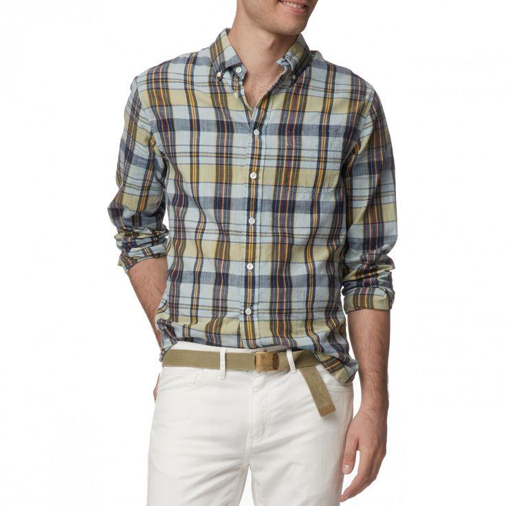 Belmont Slub Madras - Shirts - Shop
