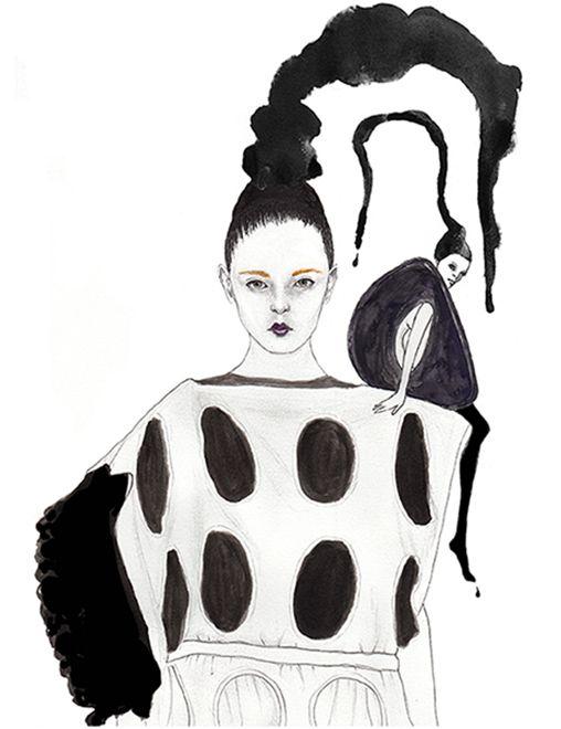 Fashion illustration // Marybeth Murcia