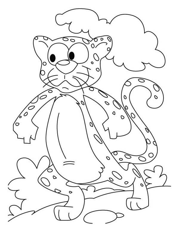 Pin By Johan En Nikki On Musiekboek Catspesies Cheetah Drawing Coloring Pages Coloring Pictures