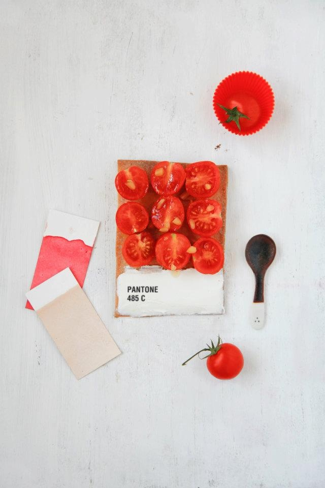 Pantone Tarts by Emilie Guelpa