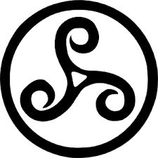 TRISKEL means many things so it's why it's an important Symbol like the others (Past, Present, Future), (Standbuy, Sleep, Dream), (Childhood, Adulthood, Old Age), (Sky, Air, Land) it's also the symbol for communication with the divine 3 levels