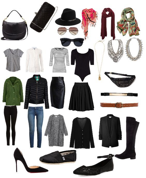 Europe in the fall packing list