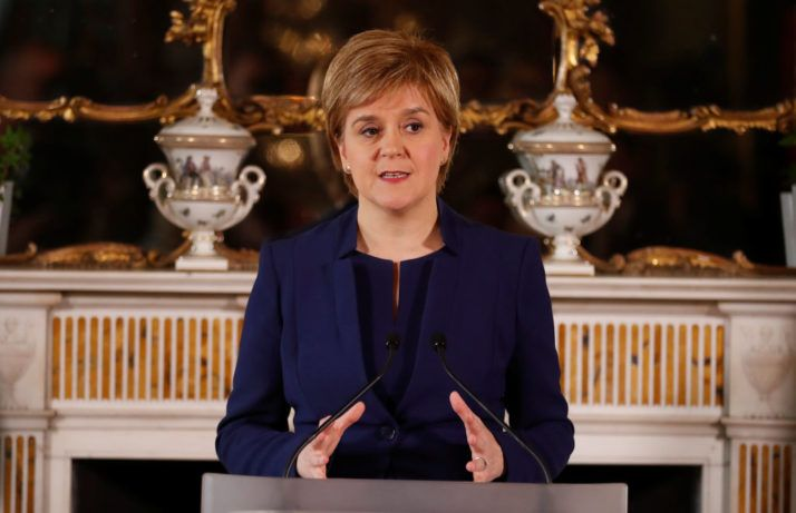 6/12/17 Nicola Sturgeon calls for 'four nation' Brexit negotiating team – POLITICO    The SNP lost 21 seats and more than a quarter of its vote share in last week's election. The result effectively pushes the prospect of a second referendum on independence from the U.K. — central to the party's mission — off the political map.