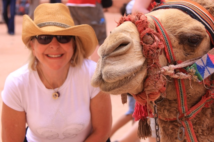 Camel and I in Petra