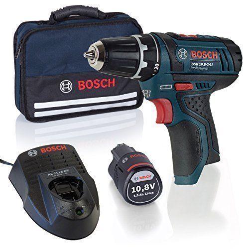 Bosch Professional GSR-Start 10,8 Kit perceuse-visseuse sans fil + Batterie + Chargeur + étui souple