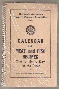 Calendar of Meat and Fish Recipies