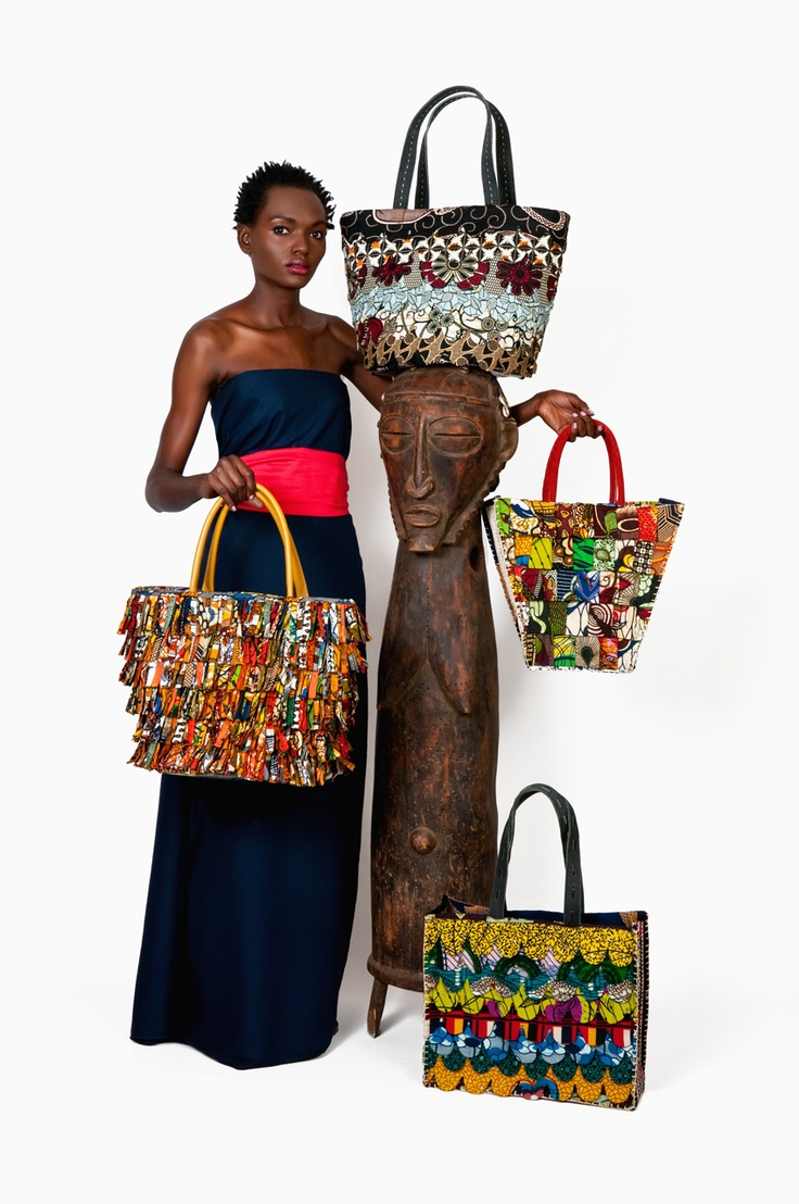 African Bag Collection by FURAHA - www.facebook.com/KikapubyFurahaB