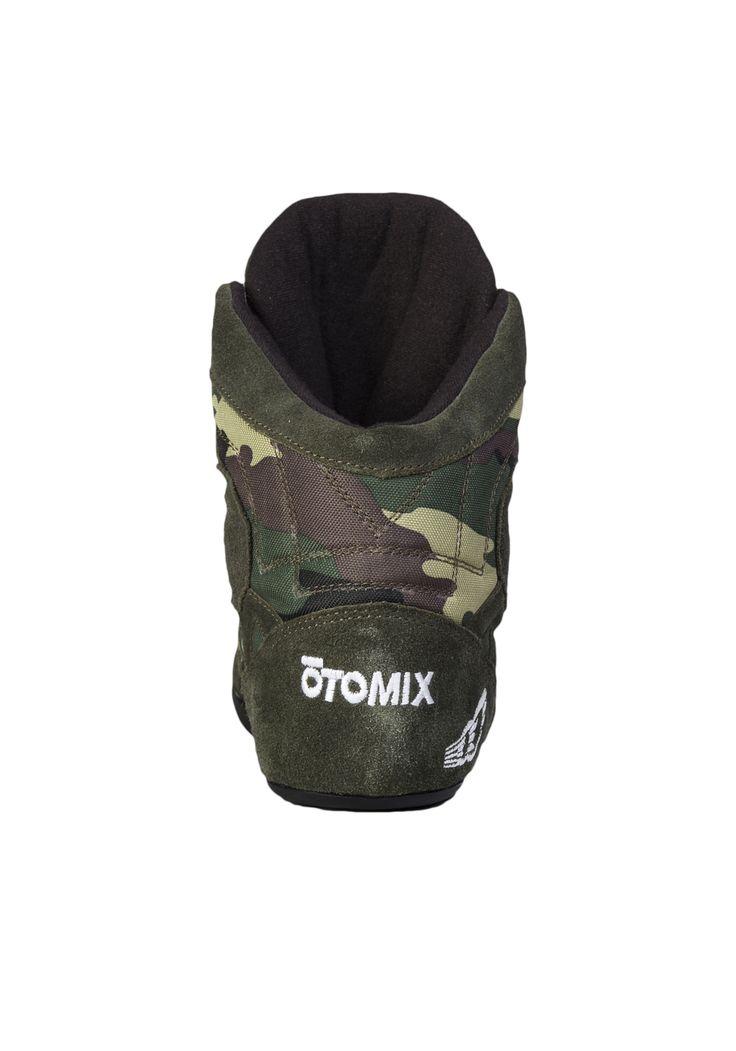Grüne Otomix Schuhe im Army Style