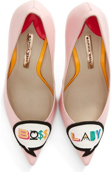 Sophia Webster 'Boss Lady' Pointy Toe Pump (Women) available at #Nordstrom