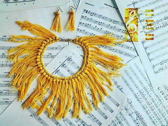 5$ necklace sun