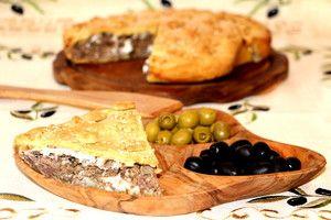 Креатотурта (Κρέας τούρτα), или Критский мясной пирог