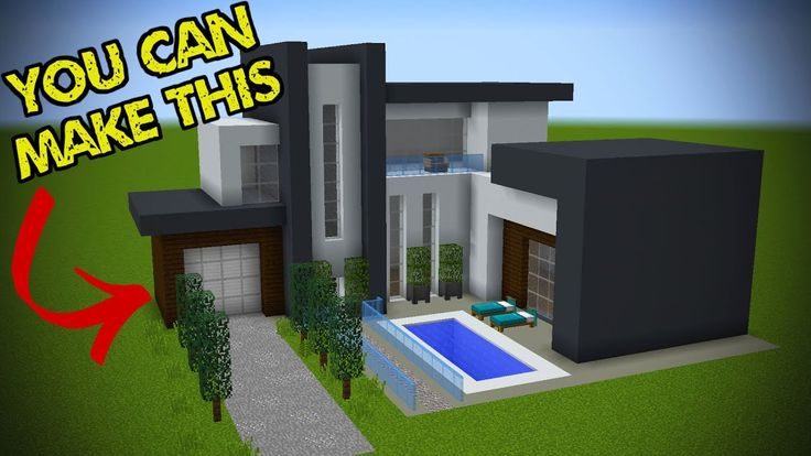Minecraft: 5 Easy Steps To Make A Minecraft Modern House. I hope this works. You could potentially make a minecraft modern mansion too. Easy minecraft houses! Official GRIAN Store: Follow me! - Twitter: - Facebook: - Twitch: - Instagram: -Powered by Chillblast: Chillblast.com
