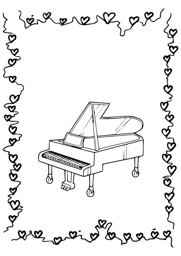 Piano Coloring Pages Best Coloring Pages For Kids Music Coloring Coloring Pages For Kids Coloring Pages