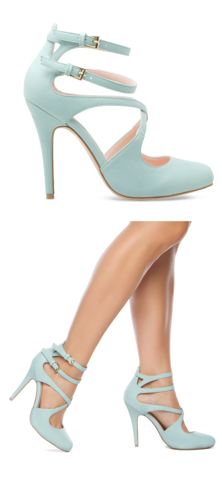 Mint heels - super cute for a vintage style wedding