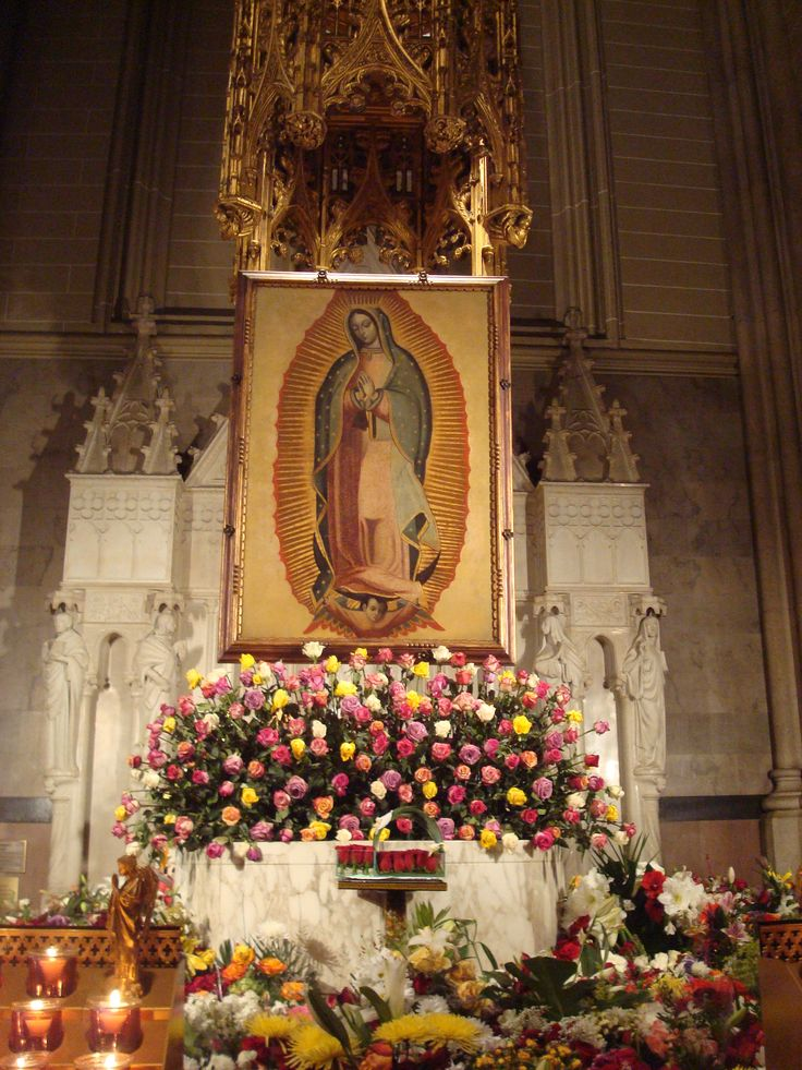 Our Lady of Guadalupe - St. Patrick's Cathedral, NYC ...