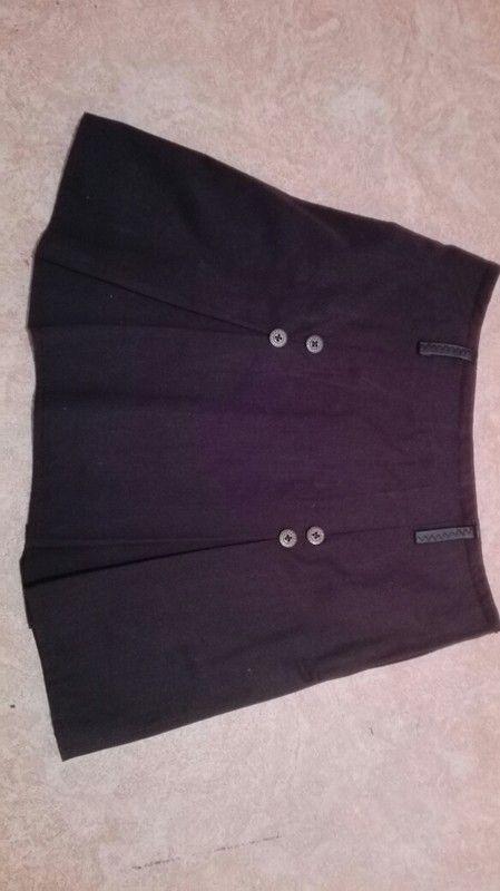 Spódnica japoński mundurek, czarna.