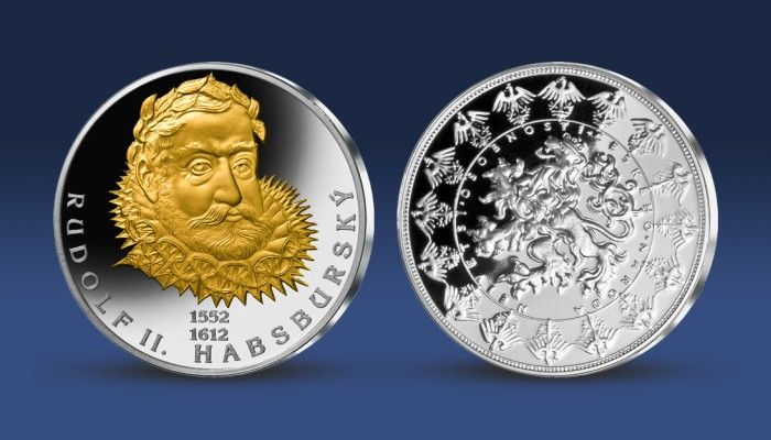 Rudolf II. - legendární český panovník na výroční pamětní medaili http://www.narodnipokladnice.cz/vyprodane-produkty/rudolf-ii-cesky-panovnik-na-vyrocni-pametni-medaili