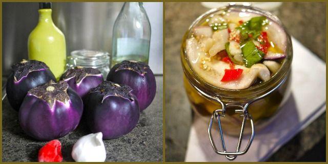 La ricetta per preparare la conserva di melanzane sott'olio: l'estate in un barattolo