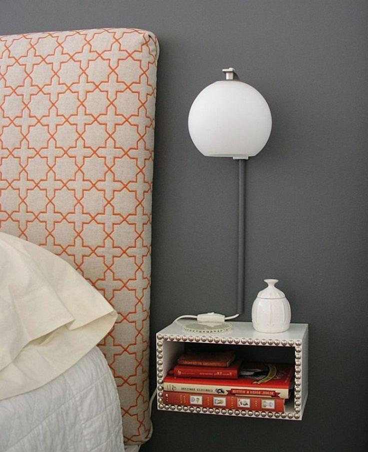 las 25 mejores ideas sobre nachttisch zum einh ngen en. Black Bedroom Furniture Sets. Home Design Ideas