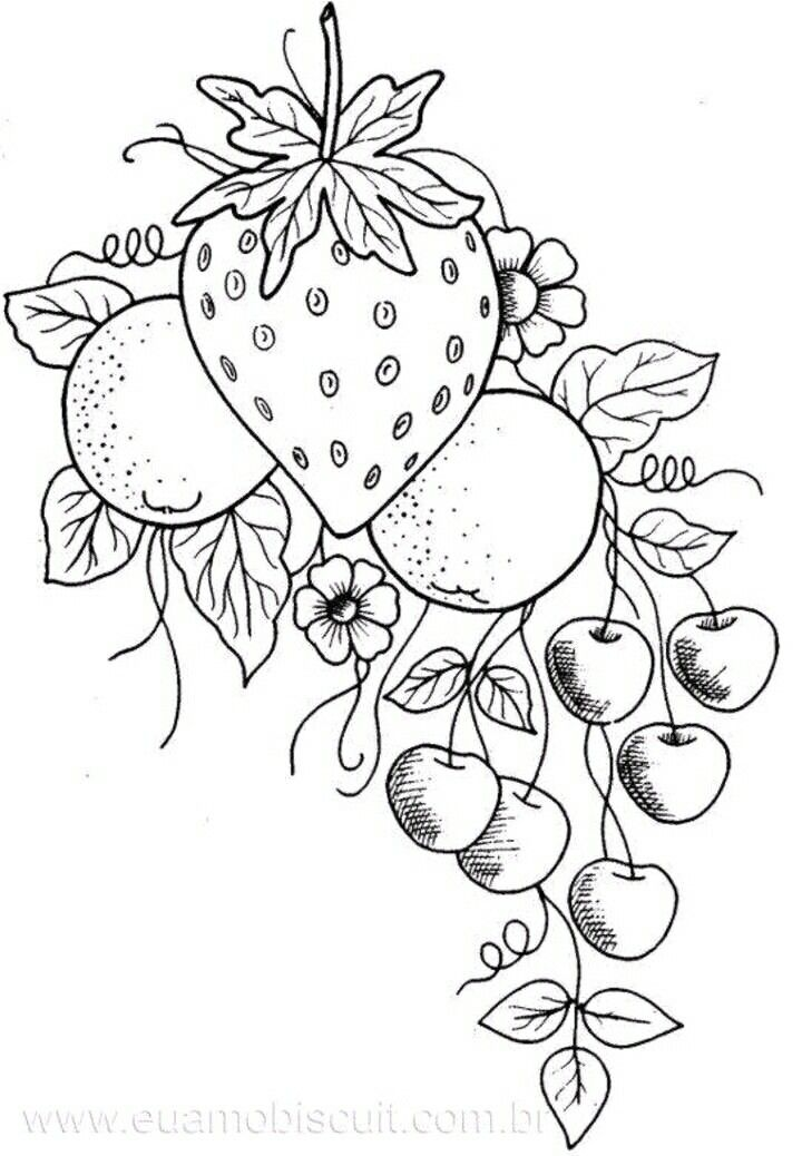 29 Best Images About Vegetable Coloring Pages