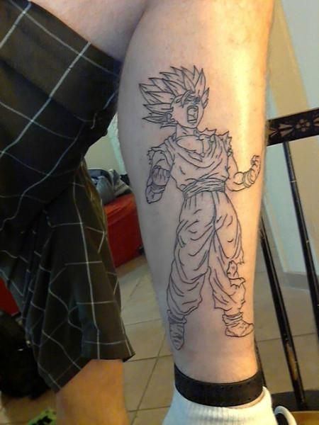 Gamabunta Tattoo Super Saiyan 2 ...