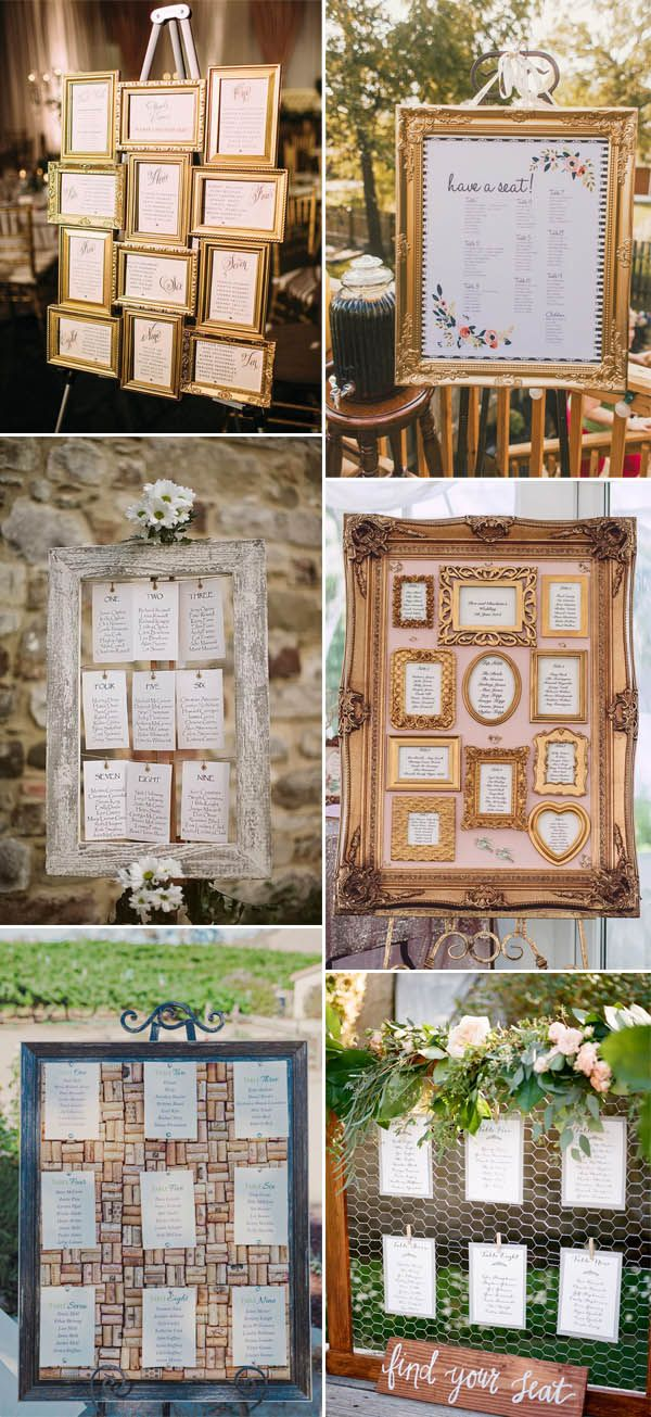 30 most popular wedding seating chart ideas to greet your guests