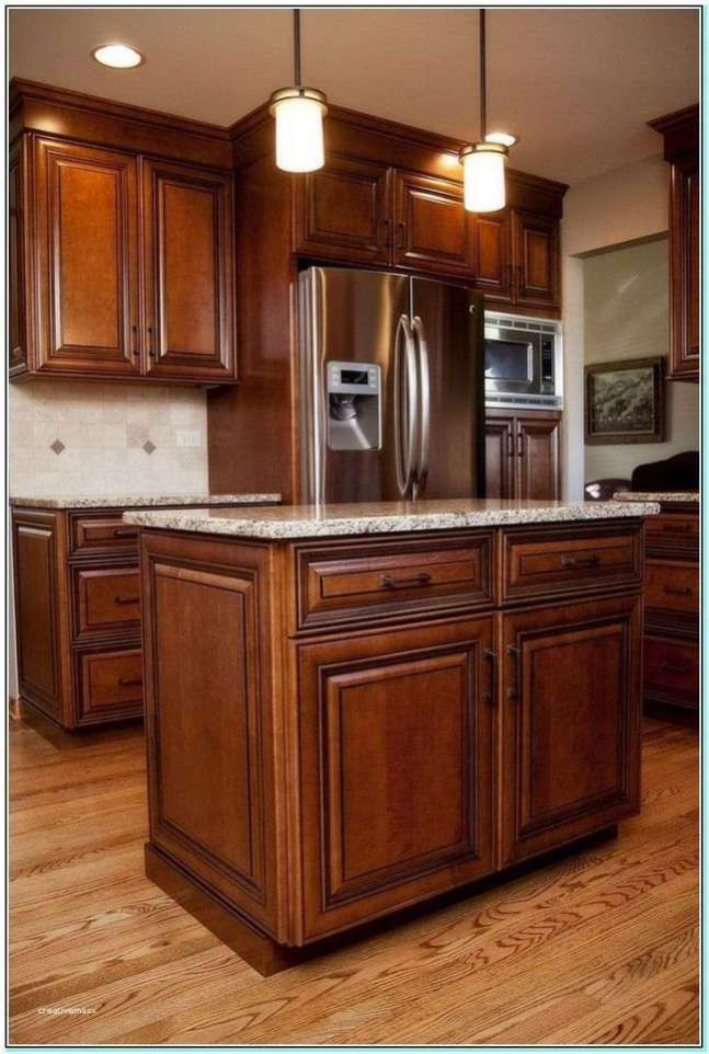 White Marble Countertops With Maple Cabinets | Maple ... on Maple Cabinets With White Countertops  id=50344
