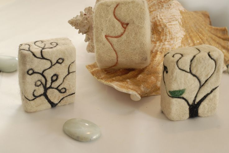 felted soap designs how to | So that's how we do it, we use hand maid soap, and New Zealand ...