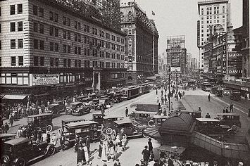 Then Vs. Now: 1920s New York City