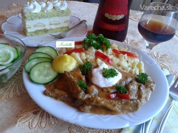 Csikós tokány (Hovädzí tokáň) (fotorecept) - Recept
