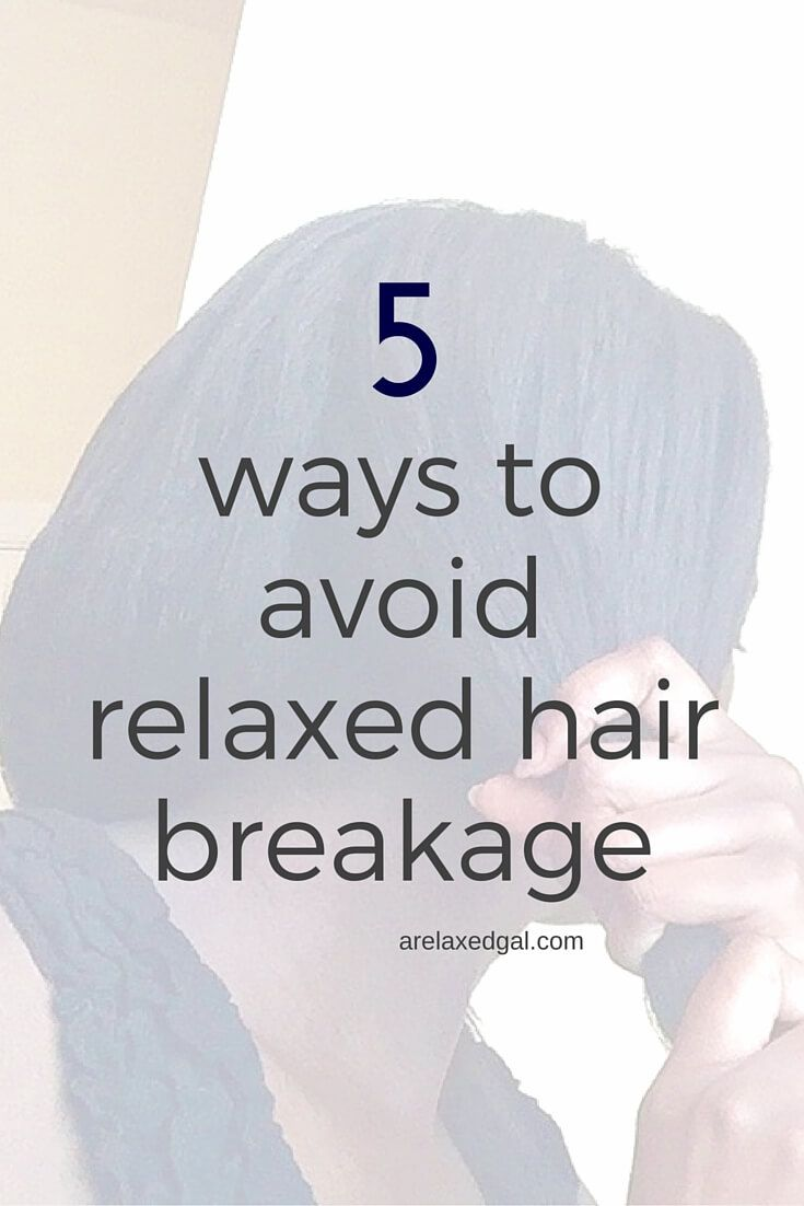 While it's not guaranteed that you can stop all hair breakage, there are 5 things that can help you avoid it. | arelaxedgal.com
