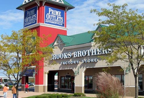 The Prime Outlets are less than 15 minutes from campus in nearby Jeffersonville, Ohio.