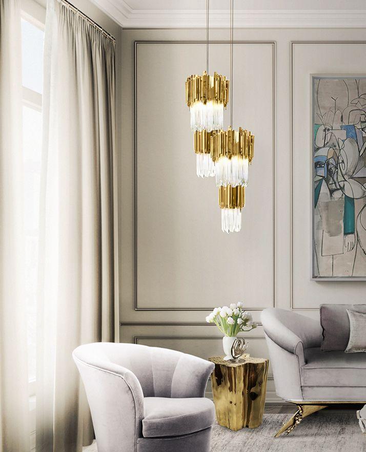 Empire Pendant | Hotel Lobby | LUXXU Modern Lamps