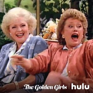 New party member! Tags: lol excited hulu rose golden girls the golden girls betty white blanche blanche devereaux rue mcclanahan rose nylund laughing at