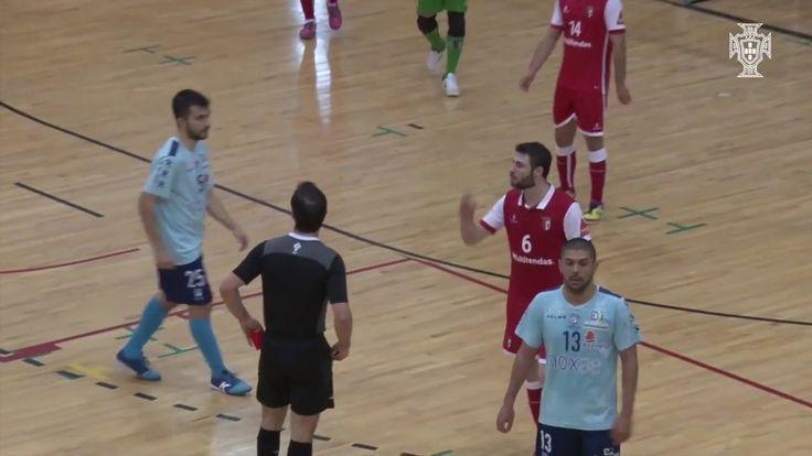 Liga Sport Zone 20.ª jornada: SC Braga/AAUM 44 Futsal Azeméis