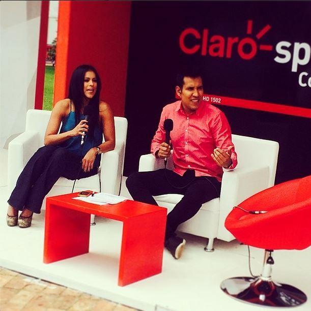 Con @camiloporrast desde el #WTAcolsanitas #clarosports ✌️✌️#tenisfemenino
