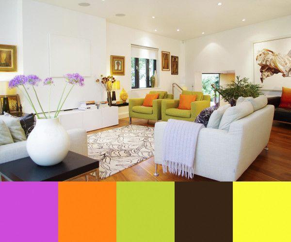 Mid Century Modern Living Room Traditional