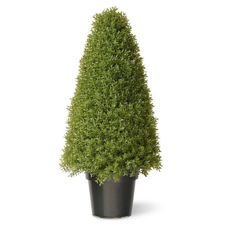 """National Tree Company 36"""" Artificial Boxwood Tree, Green"""