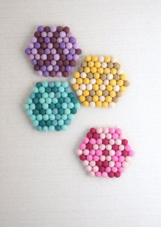 10 Things You Can Make From the Little (& Mighty) Felt Ball | Apartment Therapy