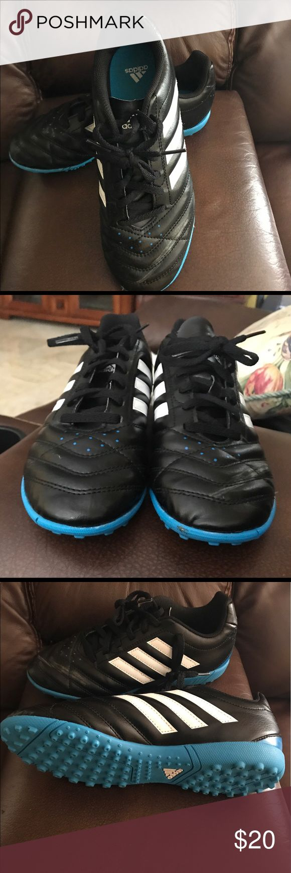 SOLD Kids Adidas indoor soccer shoes SOLD  in another site .  Kids Adidas indoor soccer shoes size 5 nearly new adidas Shoes Sneakers