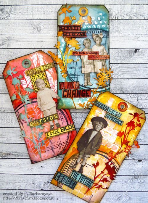 Ciao a tutti! La sfida che vi propone oggi Simon Says Stamp Monday Challenge Blog  è veramente adatta a tutti! Tema STENCIL IT! Non v...