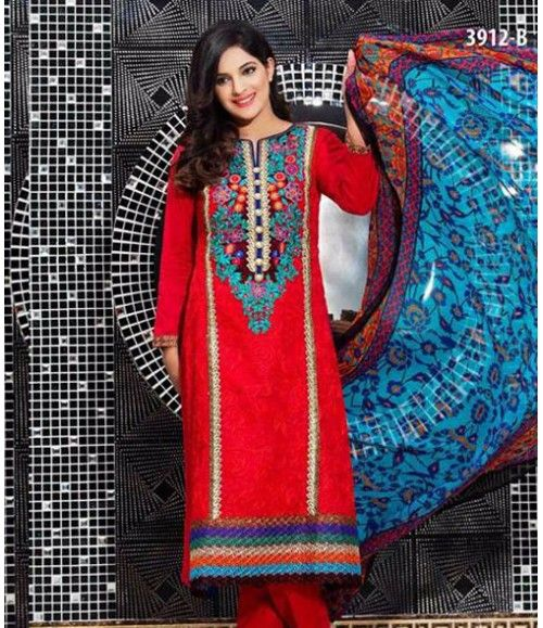 Tawakkal Embroidered Suit Verve Fancy Collection 3012_B