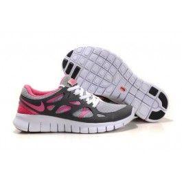 Nike Free Run+ 2 Damesko Grå Hvit Rosa | billige Nike sko | billige Nike sko på nett | Nike sko nettbutikk norge | ovostore.com