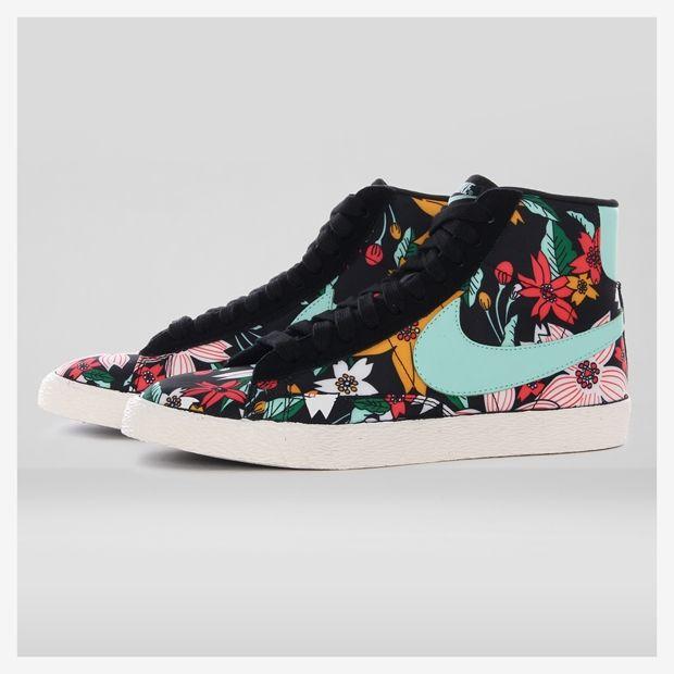 Tênis Nike Blazer Mid Textile Print Feminino - Nike no Nike.com.br
