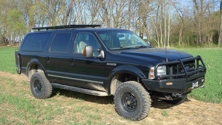 35 BFG KM2 Ford Excursion Overland Off Road 4