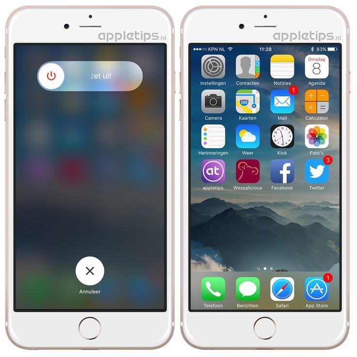 Werkgeheugen van je iPhone en iPad herstellen • appletips