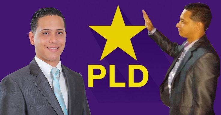 El ex-perremeista Edward Rodriguez se juramenta en el PLD con to' y familia, dizque a cambio de obras en GH